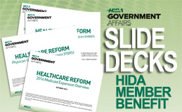 HIDA healthcare reform analysis slides