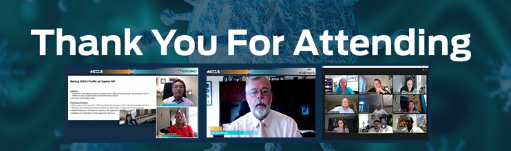 Thank you for participating in HIDA's first-ever virtual conference!