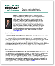 Healthcare Supply Chain Collaborative